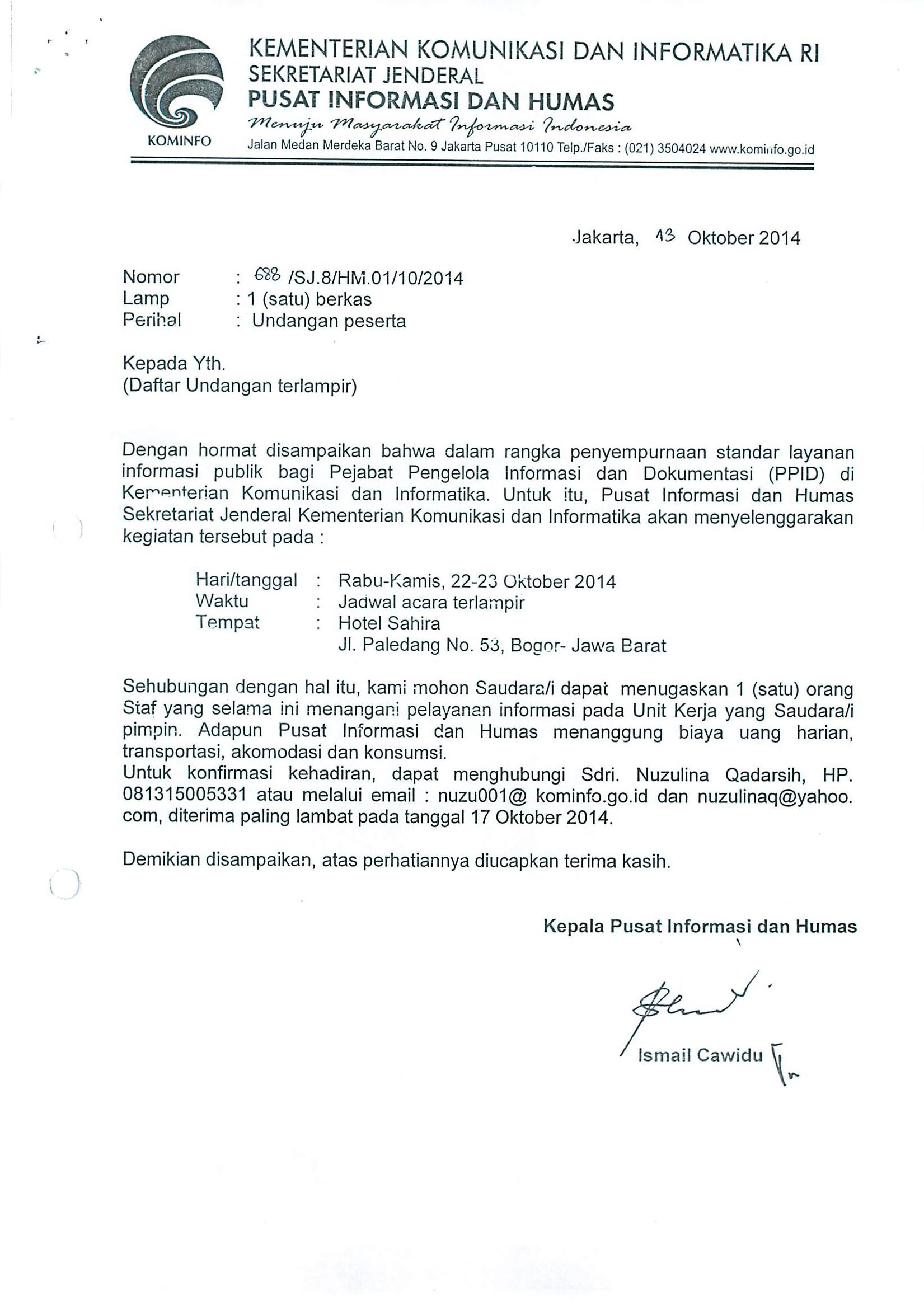 Surat Menyurat Badan Publik1 Ppid Kemkominfo
