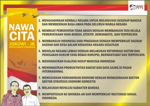 9 agenda prioritas