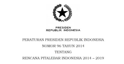 perpres no.96 2014